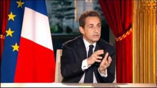 Download Interview télévisée de Nicolas Sarkozy en intégralité Video