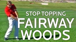 Download Golf Lessons - Stop Topping Fairway Woods Video