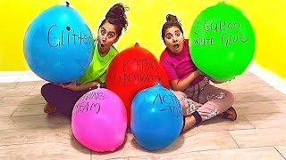 Download Making Slime With EXTREMELY GIANT Balloons! Giant Slime Balloon Tutorial Video