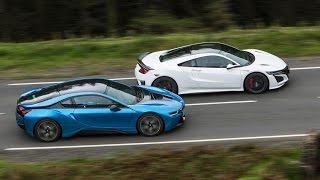 Download Honda NSX vs BMW i8 Video