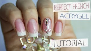Download How to: French PolyGel Nails Tutorial | Reffil French Nails Professionally Video