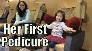 Download Her First Real Mani Pedi! - January 12, 2016 - ItsJudysLife Vlogs Video