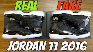 Download HOW TO: Tell If Your 2016 Jordan 11 Space Jams are REAL or FAKE! (Crazy Comparison) Video