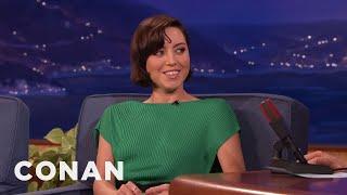 Download The Origin Of Aubrey Plaza's Awkwardness - CONAN on TBS Video