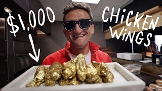 Download I ate $1000 GOLD CHICKEN WINGS! Video