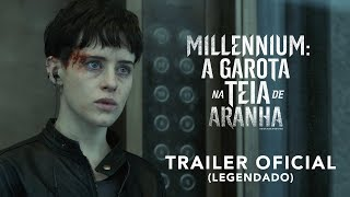 Download Millennium: A Garota Na Teia de Aranha | Trailer Oficial | LEG | 8 de novembro nos cinemas Video