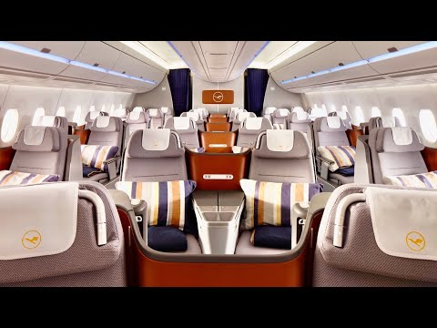 Lufthansa Airbus A350 Business Class from Munich to New Delhi
