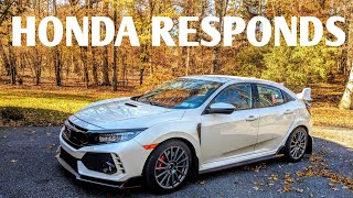 Download 2017 Honda Civic Type R Transmission Issue | Honda Responds Video
