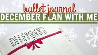 Download Bullet Journal PLAN WITH ME December Video