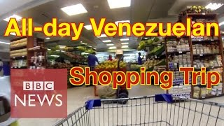Download Venezuela: How long does it take to buy 8 basic goods? BBC News Video