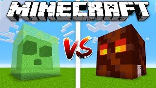 Download SLIME HOUSE vs MAGMA CUBE HOUSE / Minecraft battle Noob vs Pro Video