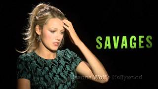 Download Blake Lively tells all about her sex in ″Savages″ Video