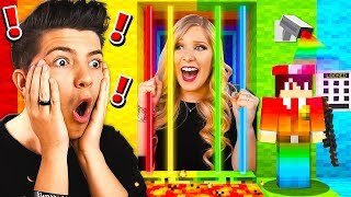 Download SAVING MY WIFE FROM RAINBOW MINECRAFT PRISON! Video