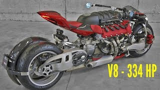 Download Masserati engine on a MOTORCYCLE Video
