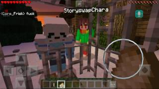 Download Swap sans and storyswap Chara tries to capture me Video