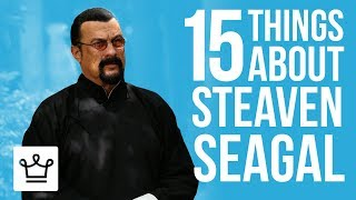 Download 15 Things You Didn't Know About Steven Seagal Video