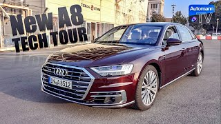 Download 2018 Audi A8 W12 (585hp) - TECH TOUR (60FPS) Video