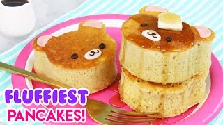 Download How to Make SUPER FLUFFY Japanese Style Bear Pancakes! Video