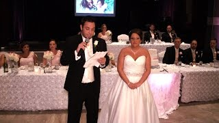 Download Emotional Bride/Groom Thank you speech to Parents Family and Friends Video