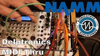 Download NAMM 2018 Delptronics MIDI Thru Video