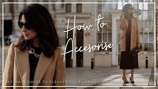Download HOW TO ELEVATE YOUR LOOK WITH ACCESSORIES   Shoes Handbags Jewellery   JASMINA PURI Video
