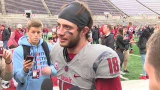Download WSU Football: Anthony Gordon after Spring Game 4/20 Video