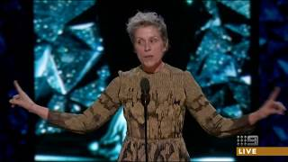 Download Frances McDormand wins the Oscar for Lead Actress 2018 [HD] Video