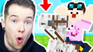 Download I STOLE a SKELETON HORSE in Minecraft Hardcore! Video