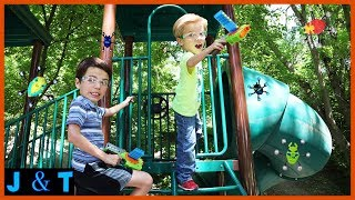 Download Defend The Playground - Bug Blaster! / Jake and Ty Video