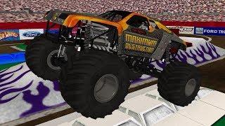 Download 16 Truck World Finals 5 Racing - Monster Jam Rigs of Rods Video