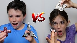 Download FIDGET SPINNER vs FIDGET SPINNER!! Video