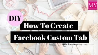 Download How to add custom tabs to facebook page 2018. Video