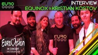 Download EQUINOX and Kristian Kostov (Bulgaria Eurovision 2018) interview | Eurovision in Concert | Eurovoxx Video