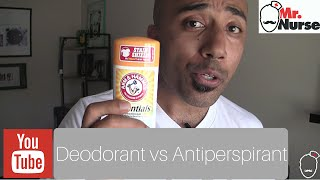 Download Deodorant vs Antiperspirant Video