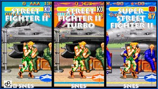 Guile Street Fighter 2: Hyper Fighting Combos Free Download Video
