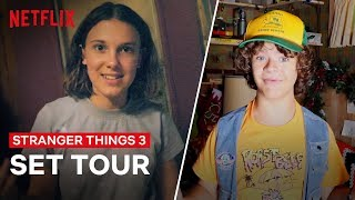 Download Stranger Things 3 Cast Give You An All Access Behind the Scenes Tour | Netflix Video