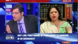 Download How Dare You Say, I Take Money? Arnab Goswami Asks Ms. Meenakshi Lekhi Video