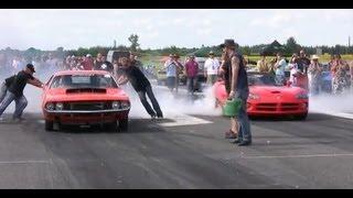 Download █▬█ █ ▀█▀ Dodge Challenger Vs. Dodge Viper Drag Race Video