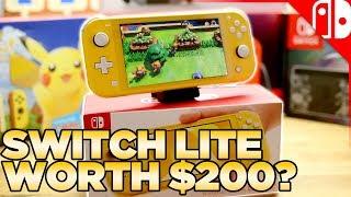 Download Nintendo Switch Lite Comparison, Unboxing, & Review Video