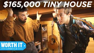 Download $50,000 Tiny House Vs. $165,000 Tiny House Video