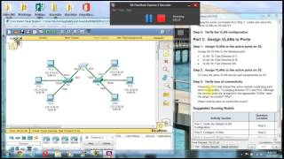 Download Packet Tracer 3.2.1.7 Configuring VLANs Part 2 Video
