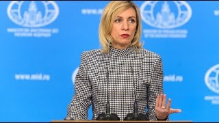 Download Russia to the rescue: Foreign Minister spox pitches fake news countermeasures at UN Video