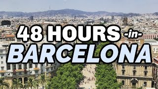 Download 48 Hours in Barcelona | Walking Tour & Highlights Video