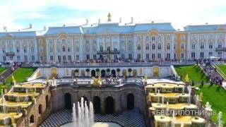 Download Петергоф, Санкт-Петербург - аэросъёмка Video