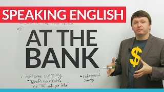 Download Real English Vocabulary: At the BANK Video