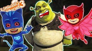 Download PJ Masks in Shrek's Swamp | LittleBigPlanet3 Video