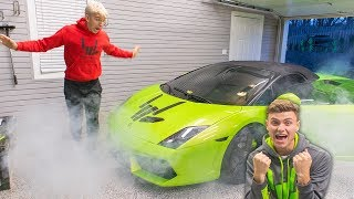 Download LAMBORGHINI PRANK ON BROTHER!! (GONE WRONG) Video