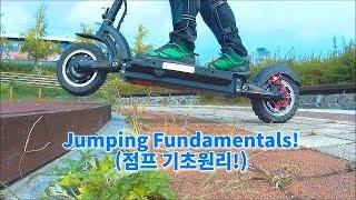 Download 28 [Dualtron Ultra] 제자리 턱넘기 트릭 ! (Trick of jumping)-듀얼트론 전동킥보드 Video