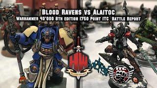 Download Blood Ravens vs Craftworld Eldar 1750 ITC Warhammer 40,000 Battle Report Video