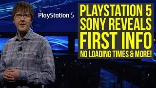 Download PlayStation 5 FIRST DETAILS - No Load Times, Backwards Compatible, PS5 Graphics & More (PS5 News) Video